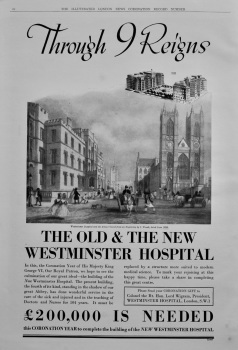 New Westminster Hospital.  1937. (Raising of Funds)