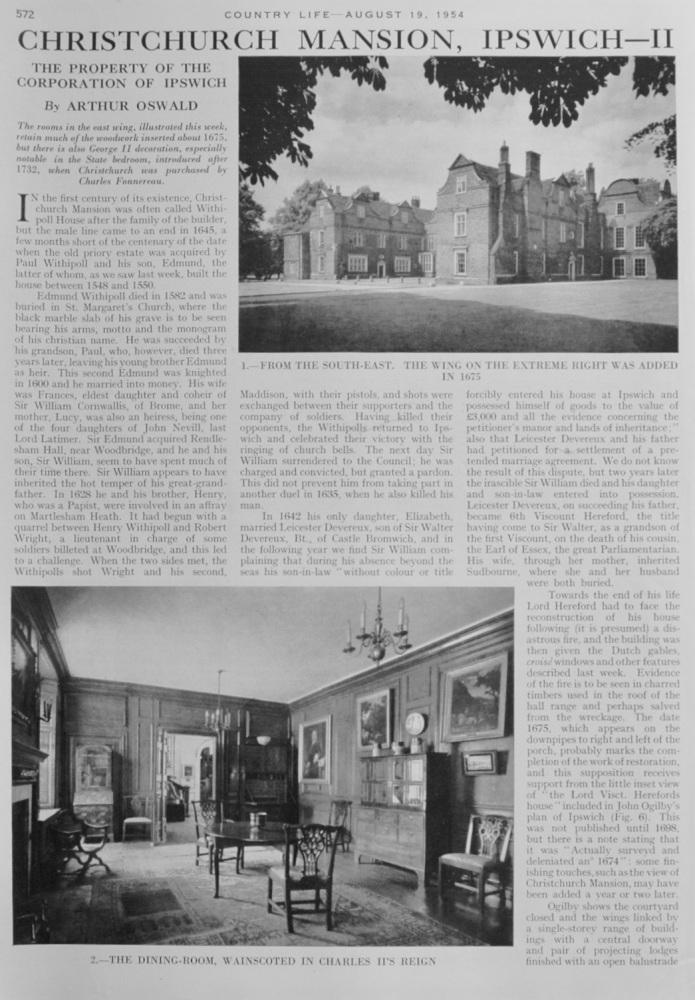 Christchurch Mansion, Ipswich - Part II