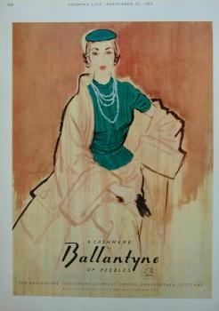 Ballantyne colour advert
