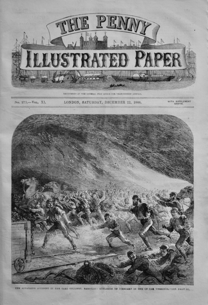 The Penny Illustrated Paper, December 22nd, 1866.