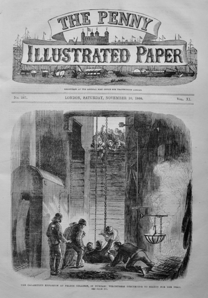 The Penny Illustrated Paper. November 3rd, 1866.