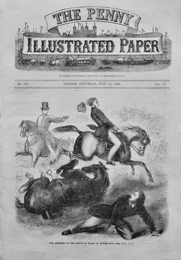 The Penny Illustrated Paper, July 14th, 1866.
