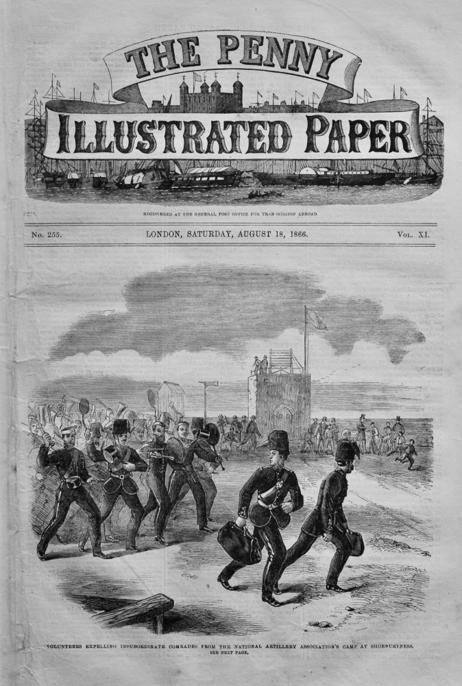 The Penny Illustrated Paper, August 18th, 1866.