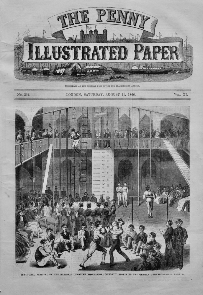 The Penny Illustrated Paper,  August 11th, 1866.