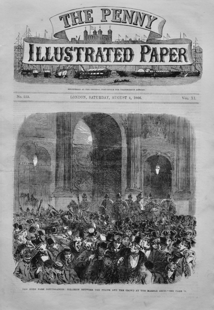The Penny Illustrated Paper, August 4th, 1866.