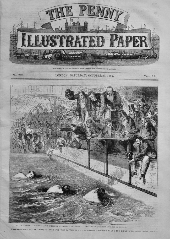 The Penny Illustrated Paper, October 6th, 1866.