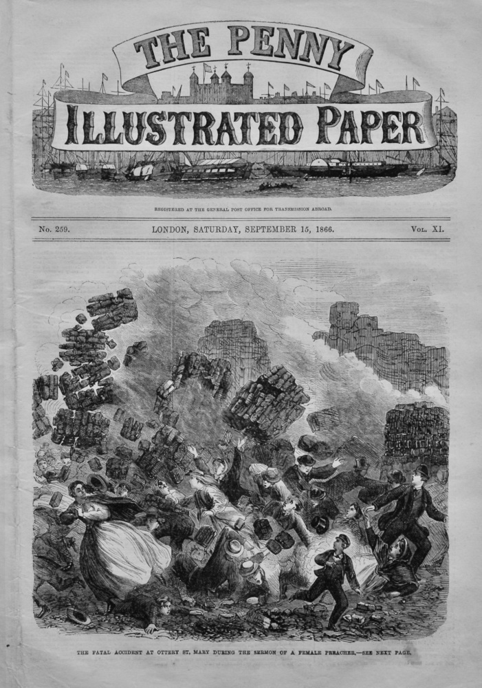 The Penny Illustrated, September 15th, 1866.