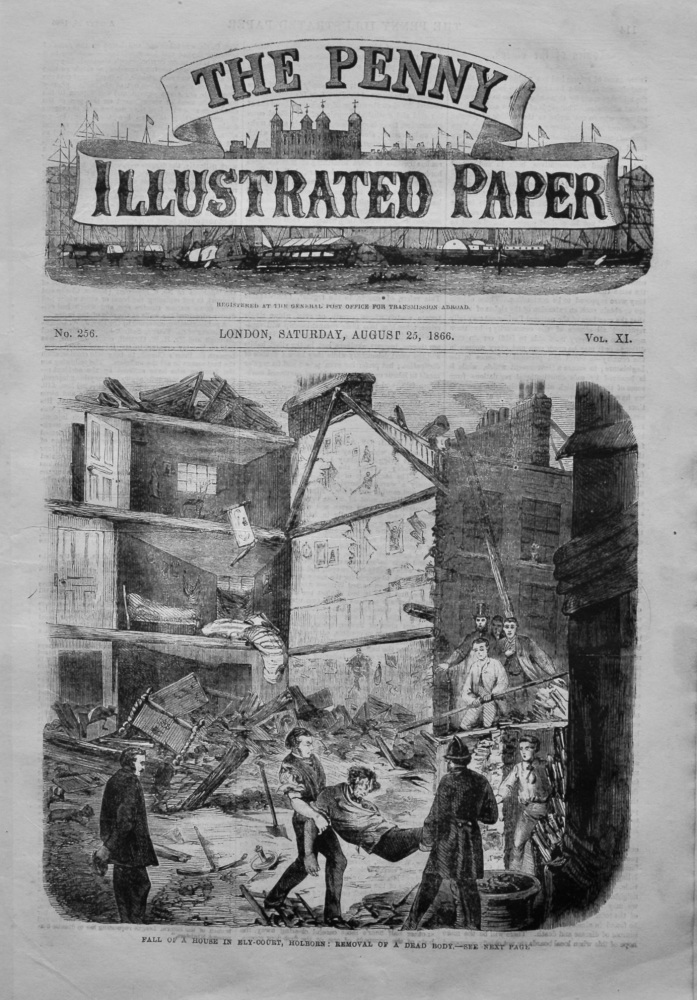 The Penny Illustrated Paper,  August 25th, 1866.