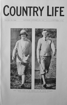 Country Life - October 30th, 1926