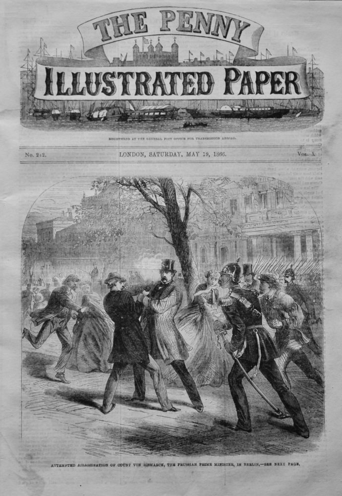 The Penny Illustrated Paper, May 19th, 1866.