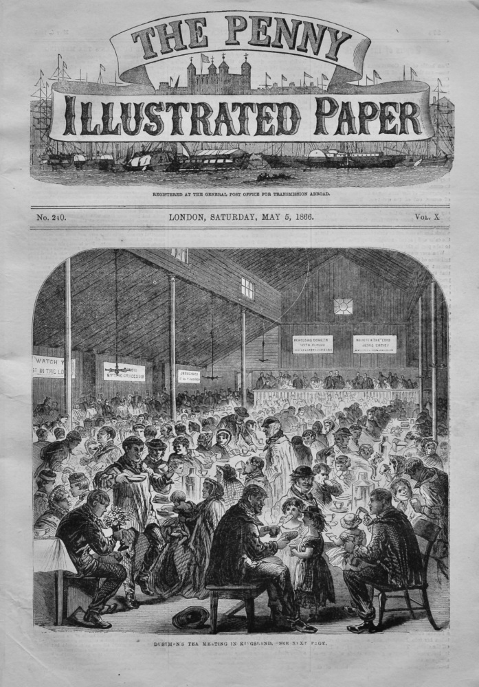 The Penny Illustrated Paper, May 5th, 1866.