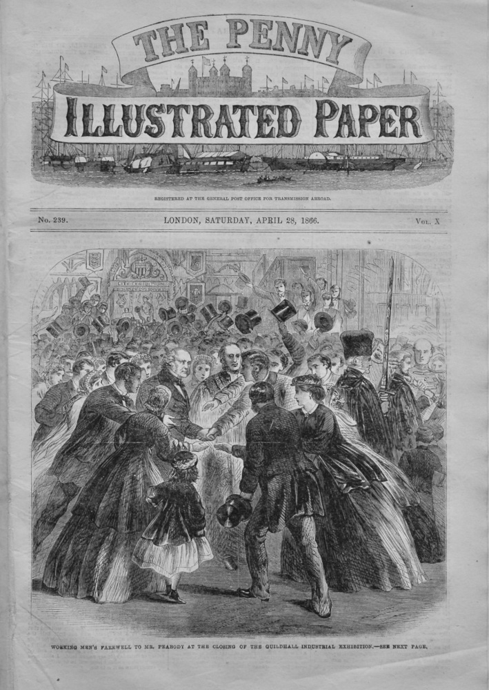 The Penny Illustrated Paper,  April 28th, 1866.