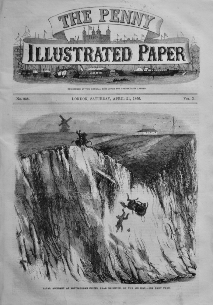 The Penny Illustrated Paper,  April 21st, 1866.