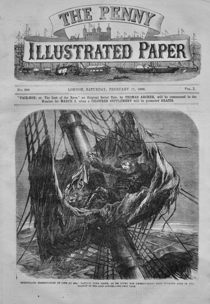 The Penny Illustrated Paper, February 17th, 1866.