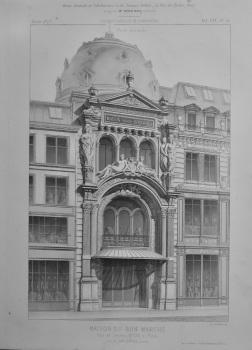 Maison Du Bon Marche, Rue de Sèvres, No. 20. a Paris.  1873.