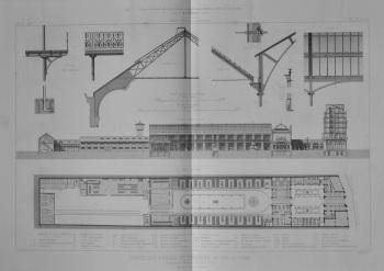 Depot Des Forges et Fonderies Du Val-D'Osne, Boulevard Voltaire, No. 58, a Paris.  1873. (Detailed plans.)