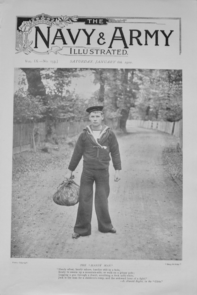 Navy & Army Illustrated - January 6th, 1900