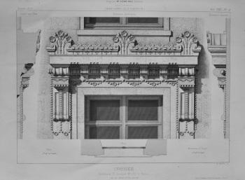 Croisee, Boulevard St. Germain, No. 235, a Paris.   1873.