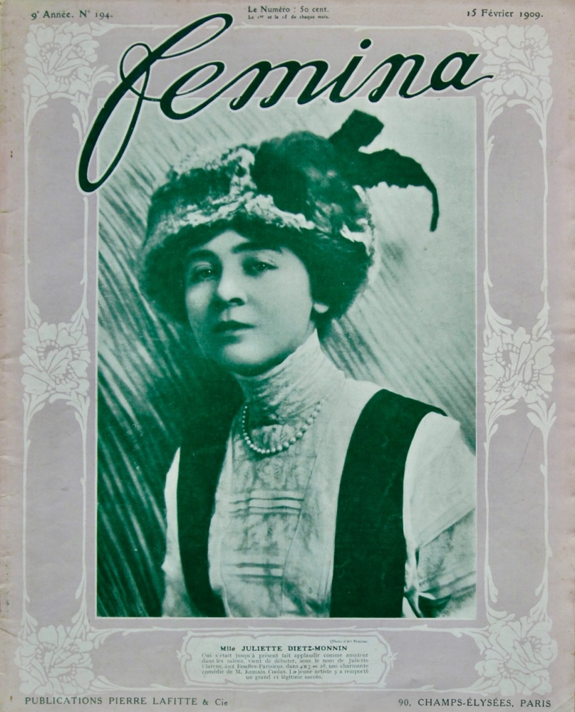 Femina. 15th, February 1909. No. 194. (Magazine).