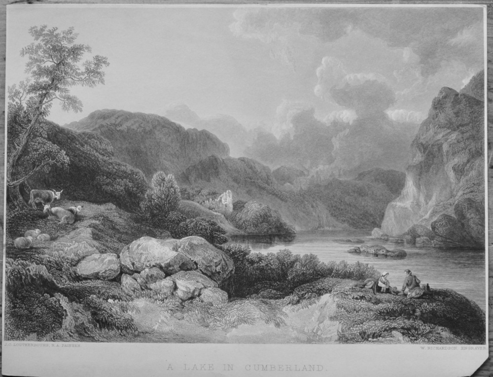 A Lake in Cumberland.  1851.