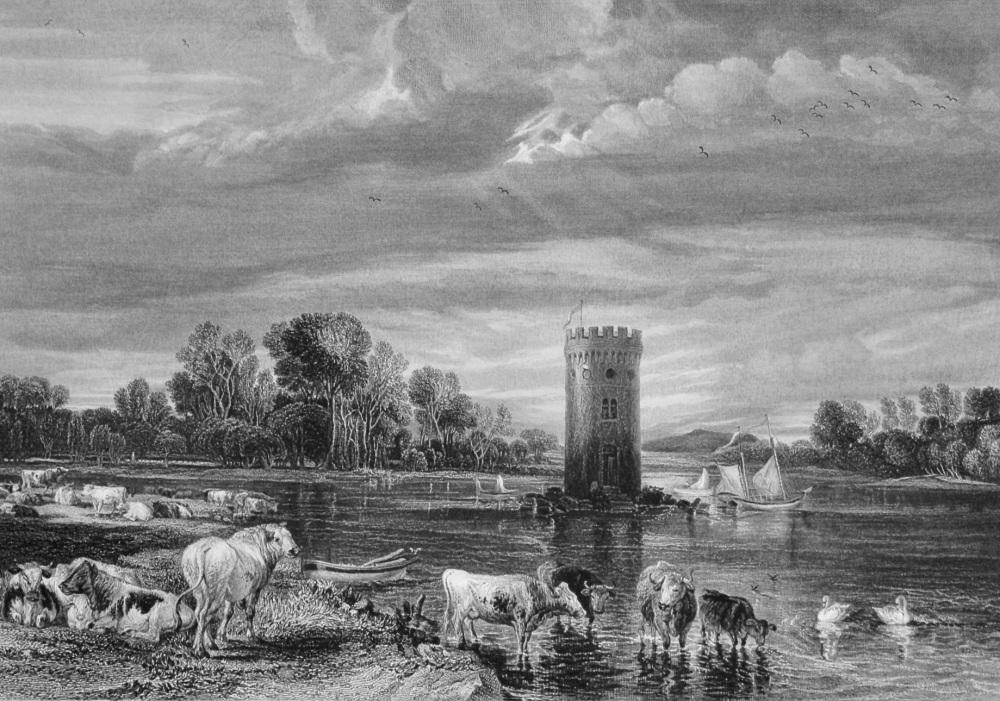 De Tabley Park. 1851.