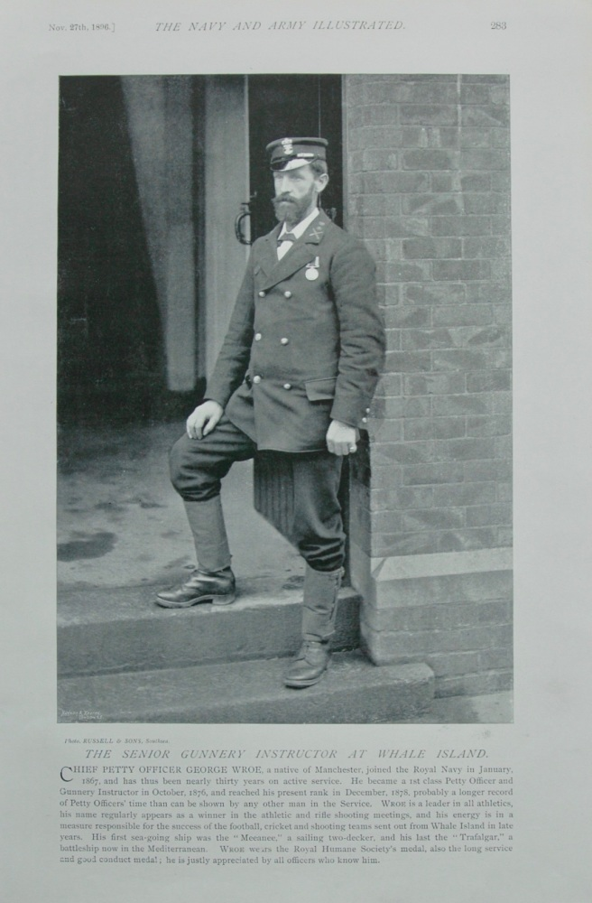 Chief Petty Officer George Wroe