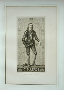 Charles I. (From the Picture by Vandyke).  1878.