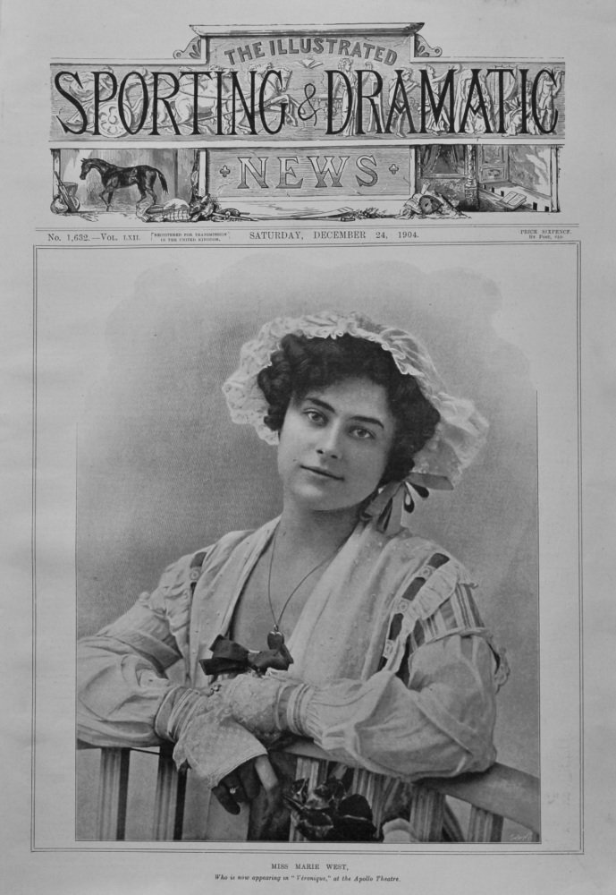 Illustrated Sporting and Dramatic News,  December 24th, 1904.