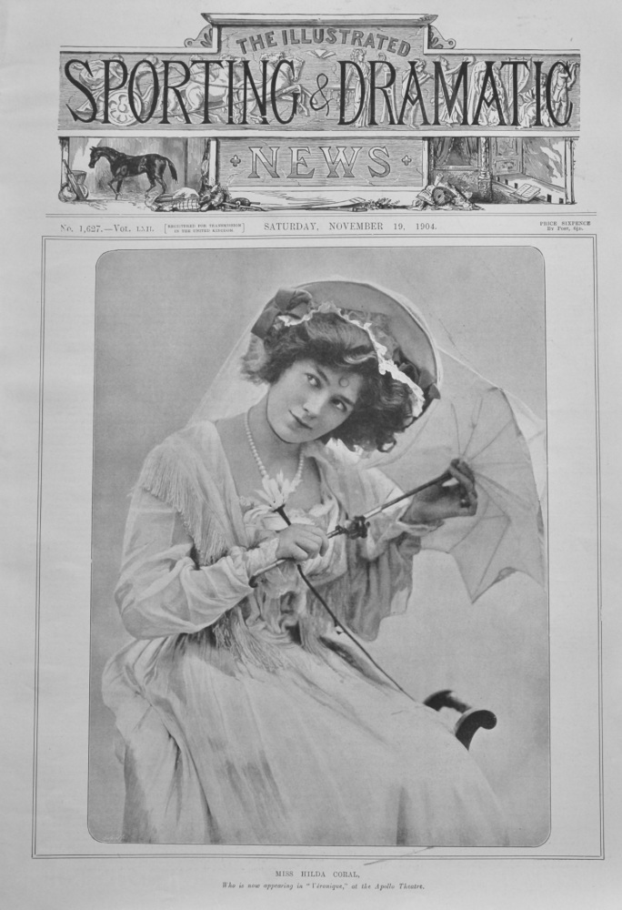 Illustrated Sporting and Dramatic News,  November 19th, 1904.