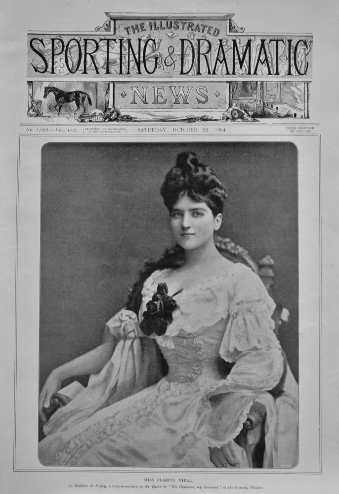 Illustrated Sporting and Dramatic News,  October 22nd, 1904.