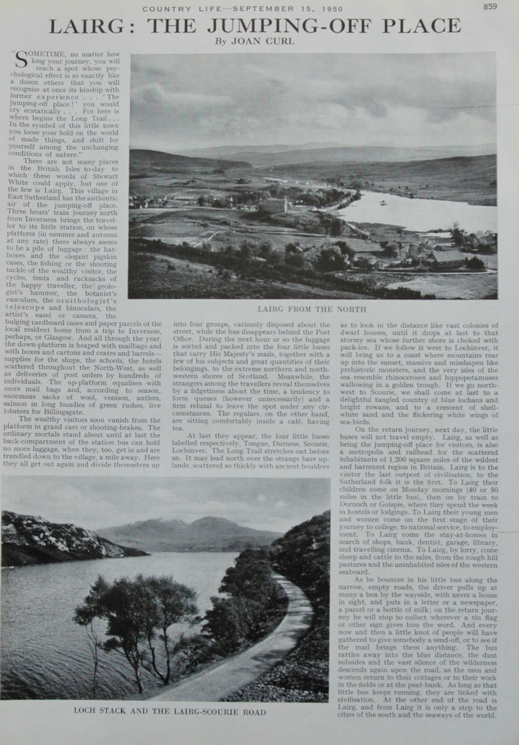 Lairg: The Jumping Off Place