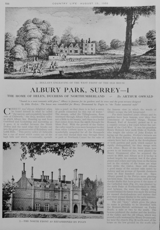 Albury Park, Surrey - Part 1