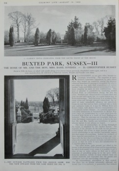 Buxted Park, Sussex - III