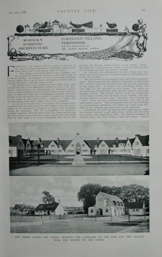 Forteviot Village, Perthshire
