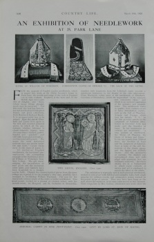 An Exhibition of Needlework