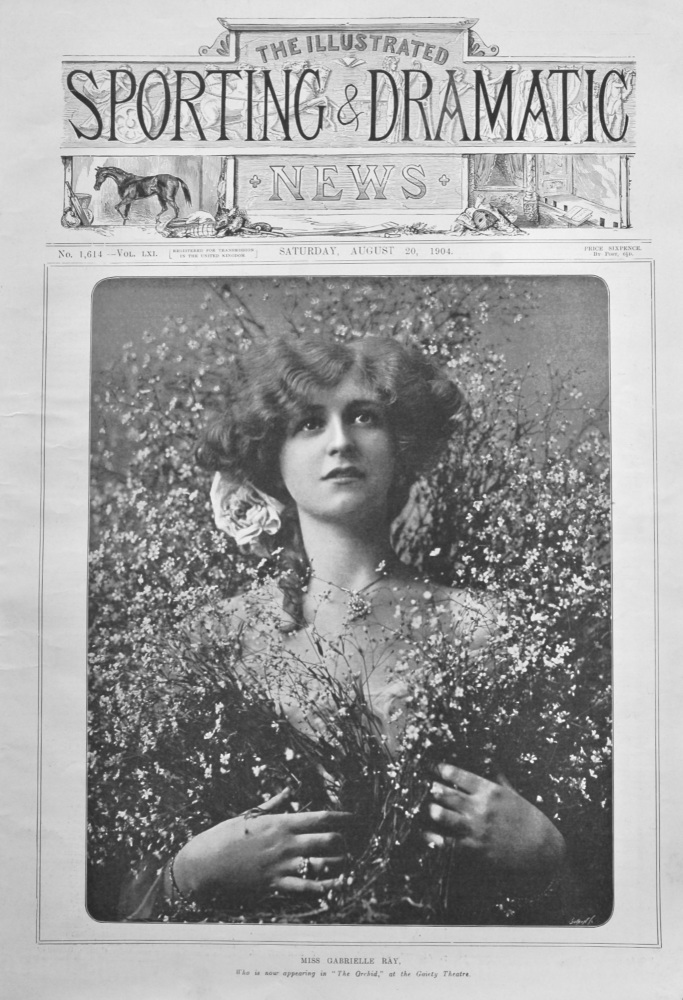 Illustrated Sporting and Dramatic News,   August 20th, 1904.