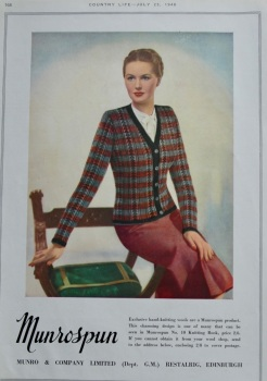 Munro & Company Limited Advert