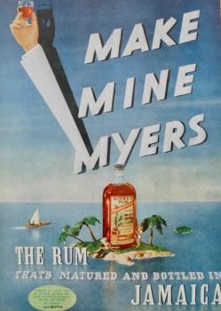Myers Rum Advert