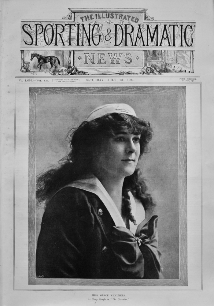 Illustrated Sporting and Dramatic News,  July 23rd, 1904.