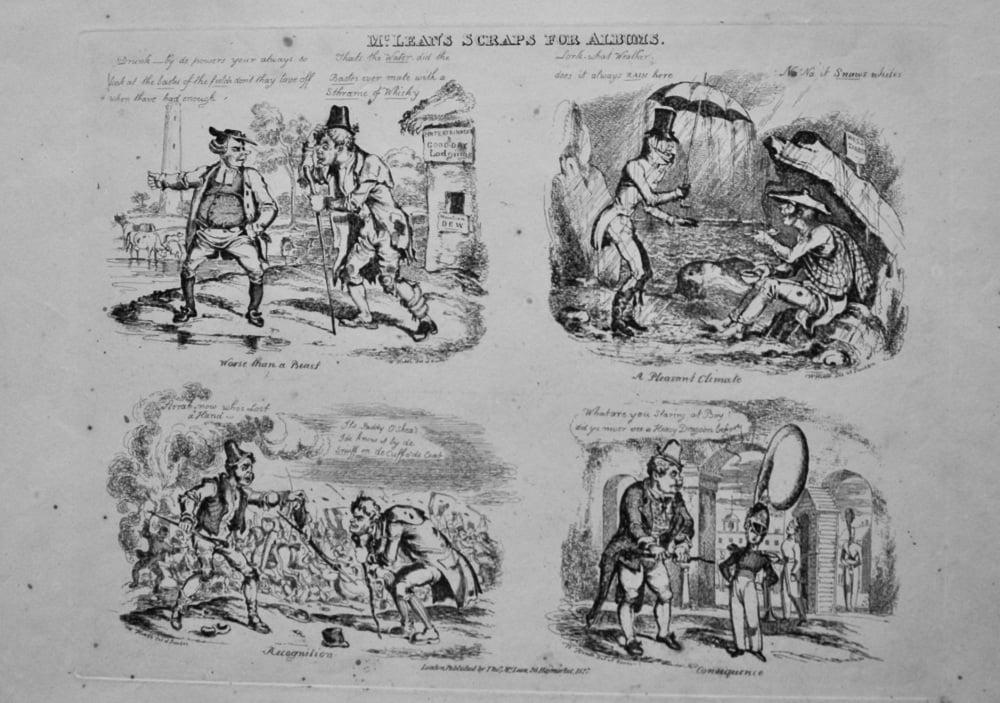 McClean's Scraps for Albums. 1838c.