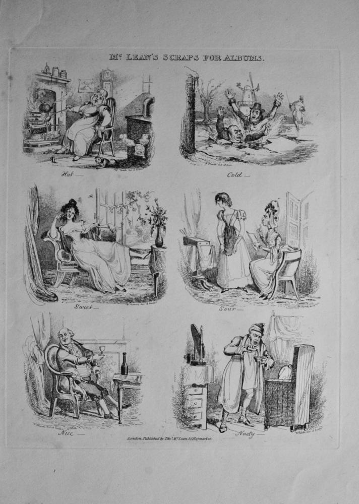 McLean's Scraps for Albums.  1838c.