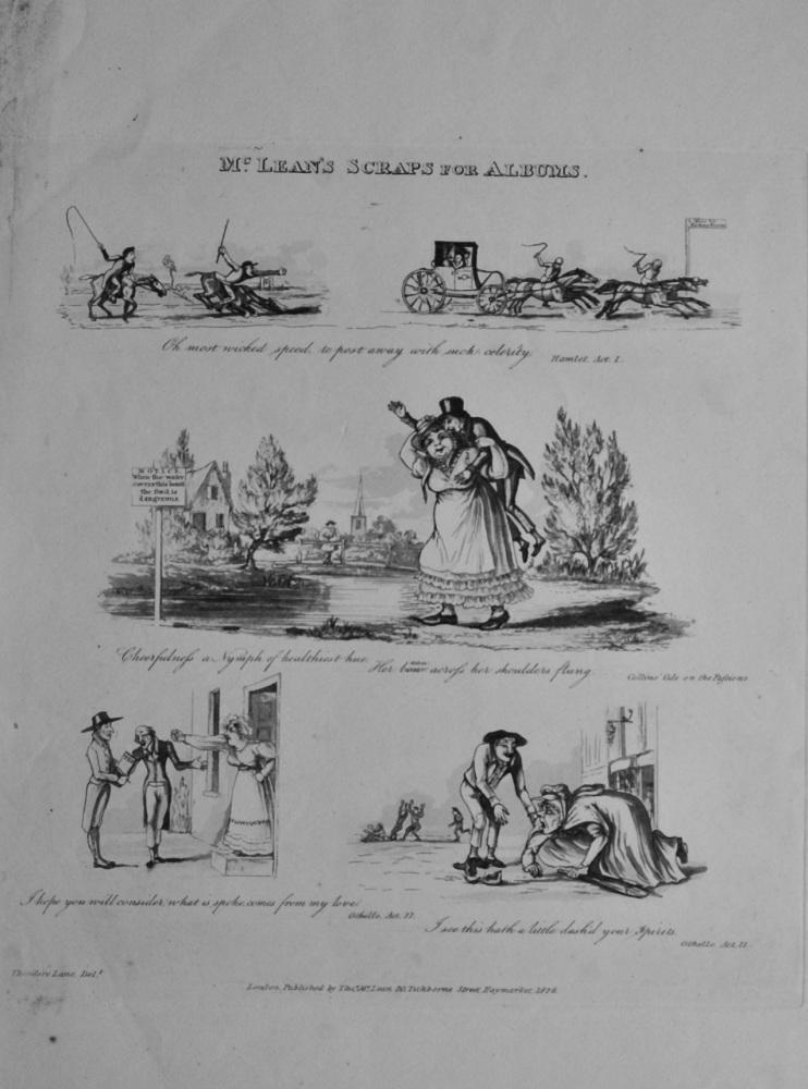 McLean's Scraps for Albums.  (Theodore Lane)  1838c.