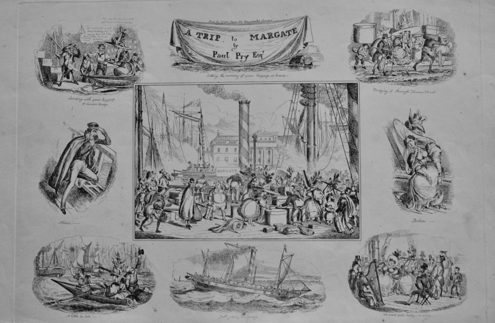 A Trip to Margate.  by Paul Pry Esq.  1838c.