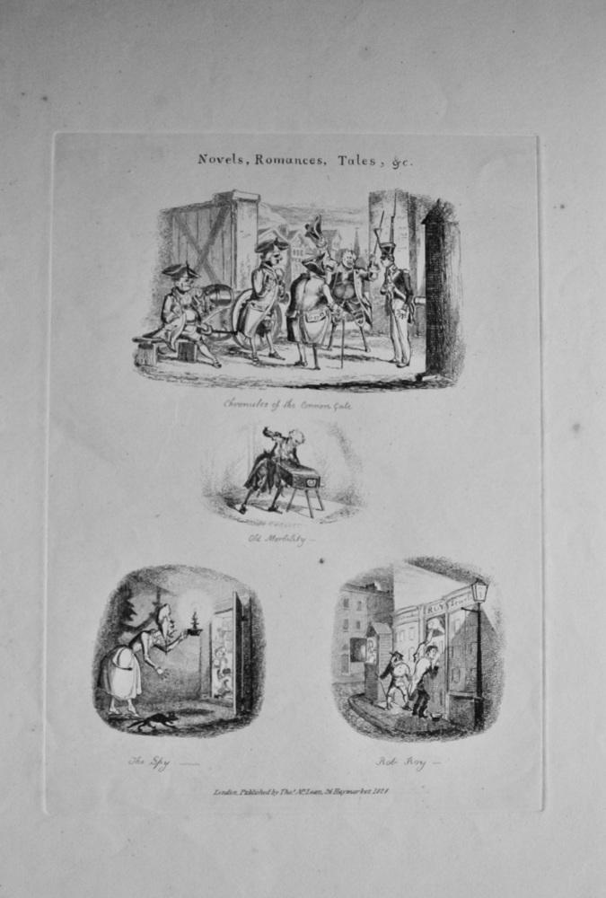 Novels, Romances, Tales, &c.  1838c.