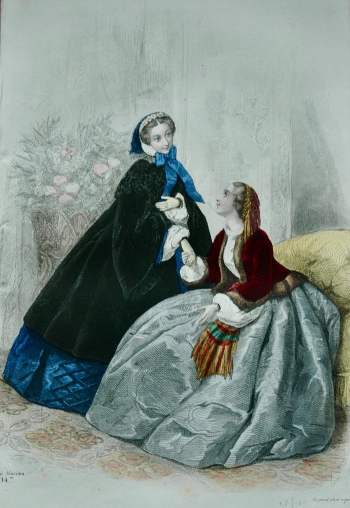 Fashion Plate. (1858.)