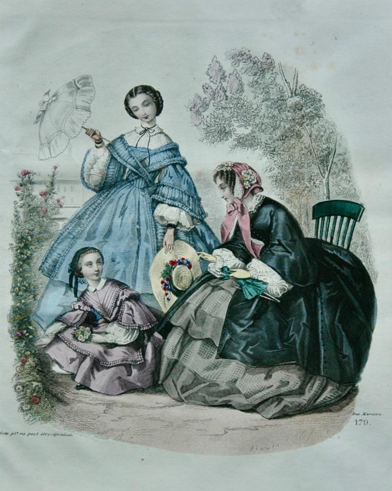 Fashion Plate. 1858