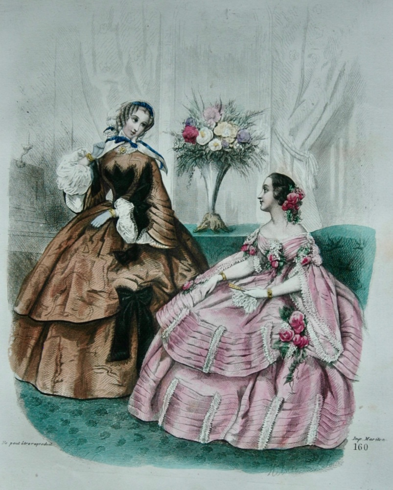 Fashion Plate.  1858.