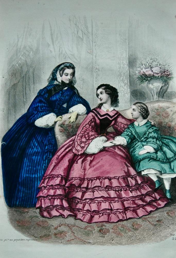 Fashion Plate. 1859