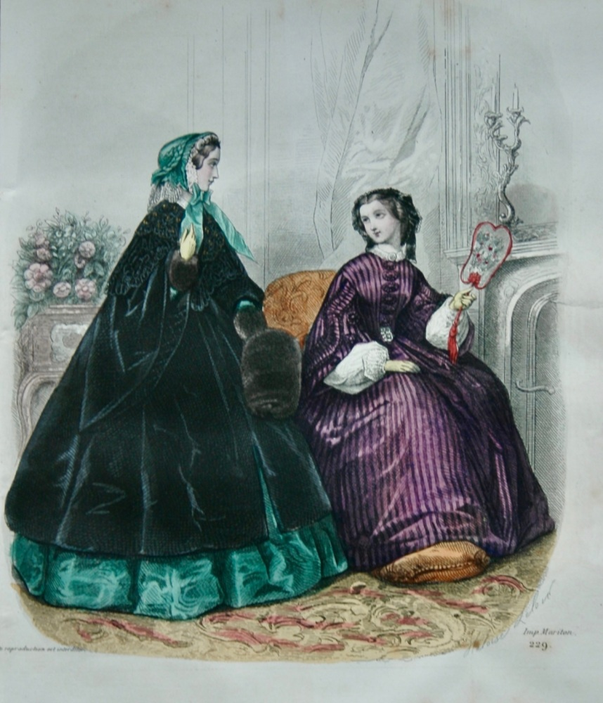 Fashion Plate.  1859.