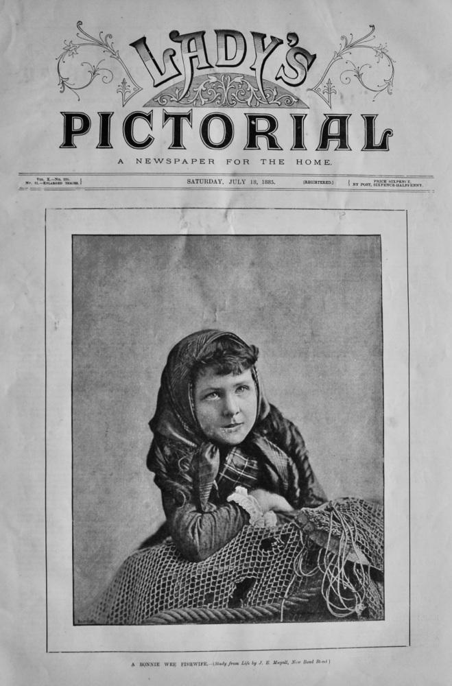 A Bonnie Wee Fishwife.  1885.